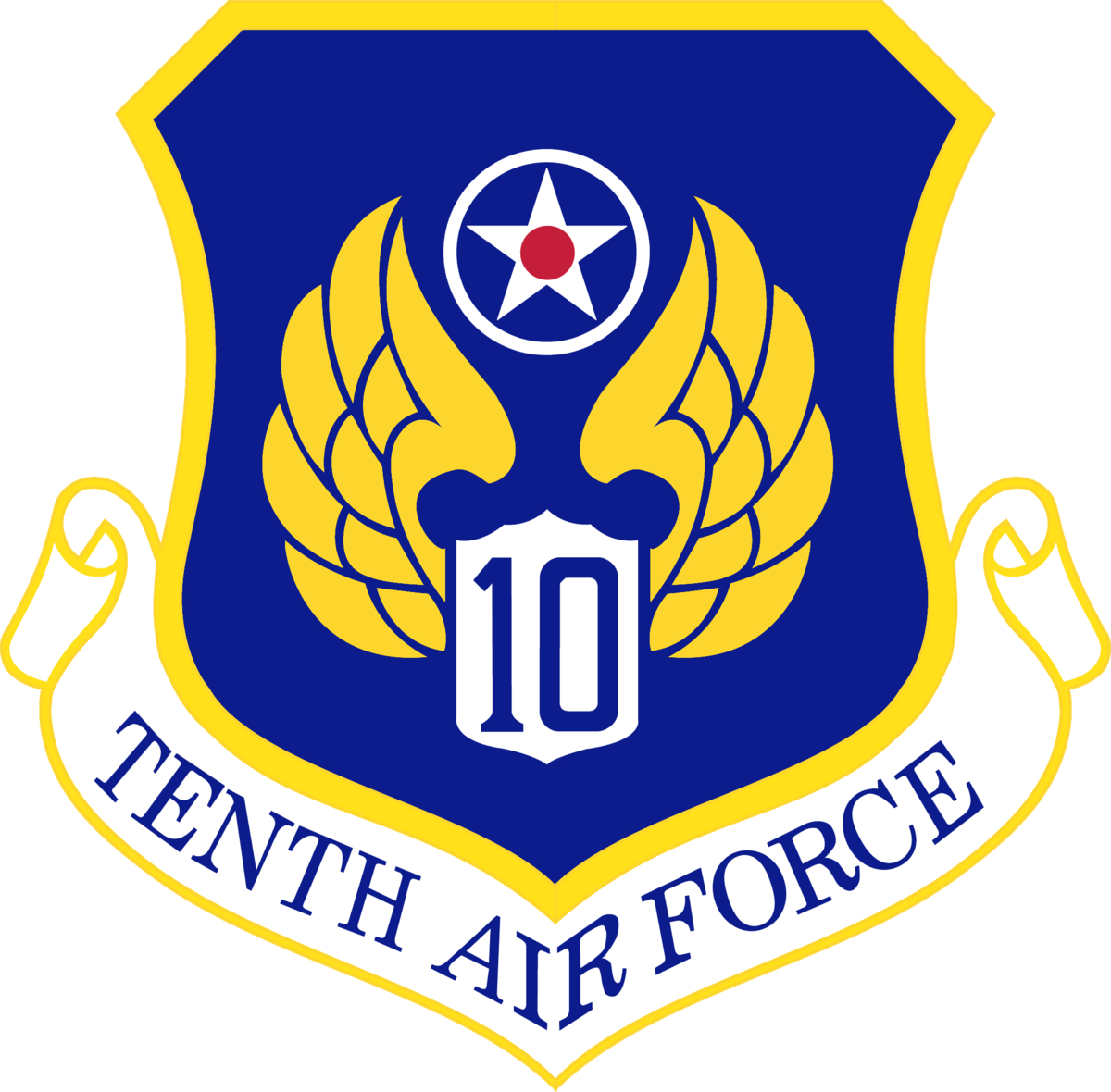 Tenth Air Force Wikipedia Air Force Air Force Patches Force