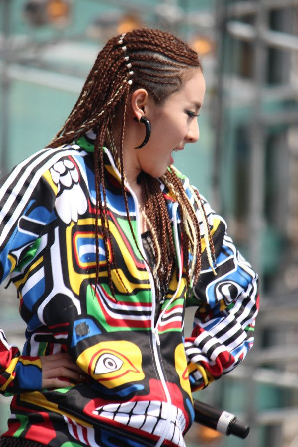 Sandara Park The Only Kpop Girlgroup Idol Who Dares To Do This Kind Of Hairstyle Dara Hip Hop Girl Style Fashion
