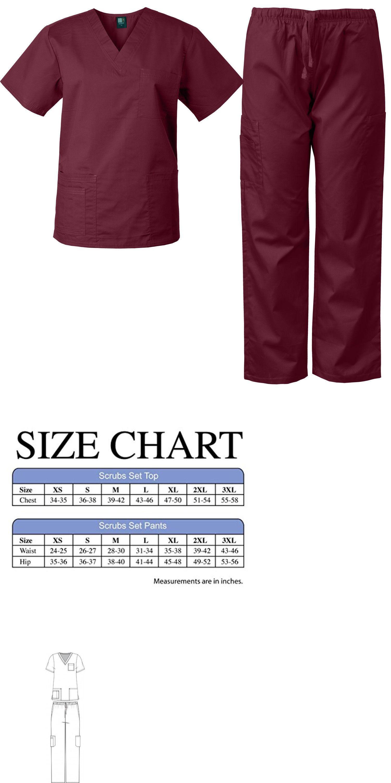 0ce44d45c4e Sets 105432: Medgear Medical Uniform Men And Women Eversoft Scrubs Set Top  And Pants Unisex -> BUY IT NOW ONLY: $18.99 on #eBay #medgear #medical # uniform ...