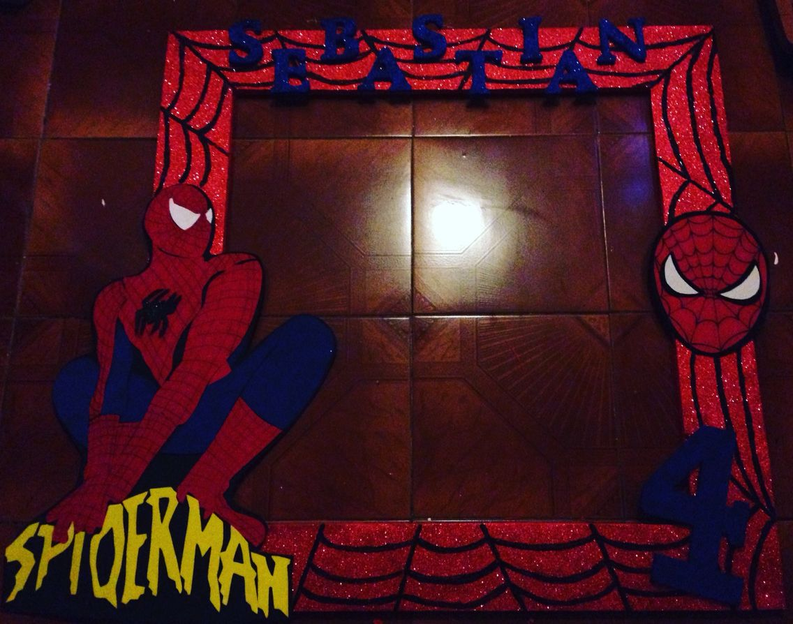 Photobooth spiderman  Photo booth  Pinterest  Spiderman