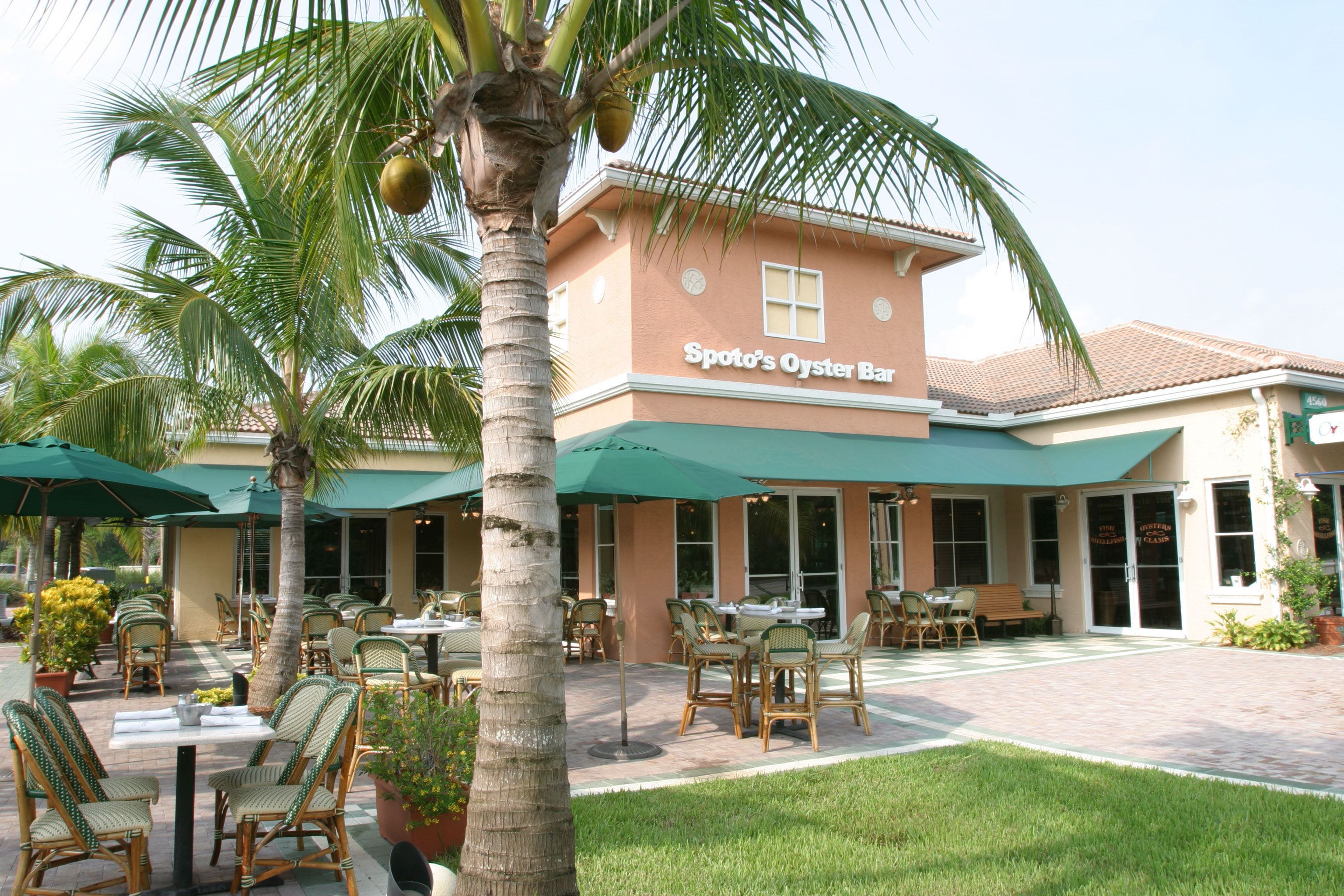 The Patio at Spoto's Oyster Bar | Palm beach, House styles