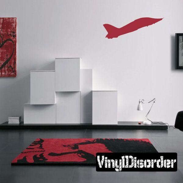 Jet Wall Decal - Vinyl Decal - Car Decal - Aircraft - BA055