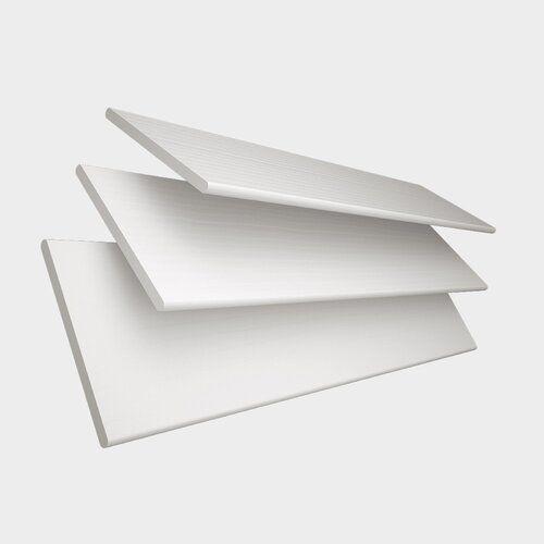 Jalousie Transparent Ebern Designs Beenden: Weiß, Größe: 160 cm L x 90 cm B