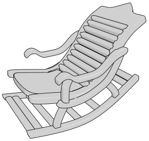 Old Rocking Chair Clipart Png Old Rocking Chairs Rocking Chair Chair