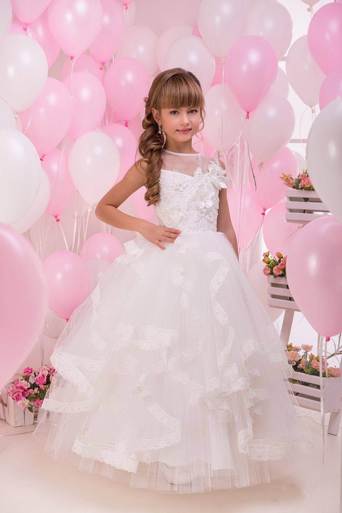 Amelina | Vestidos niña, Vestidos de novia de tul y Vestiditos