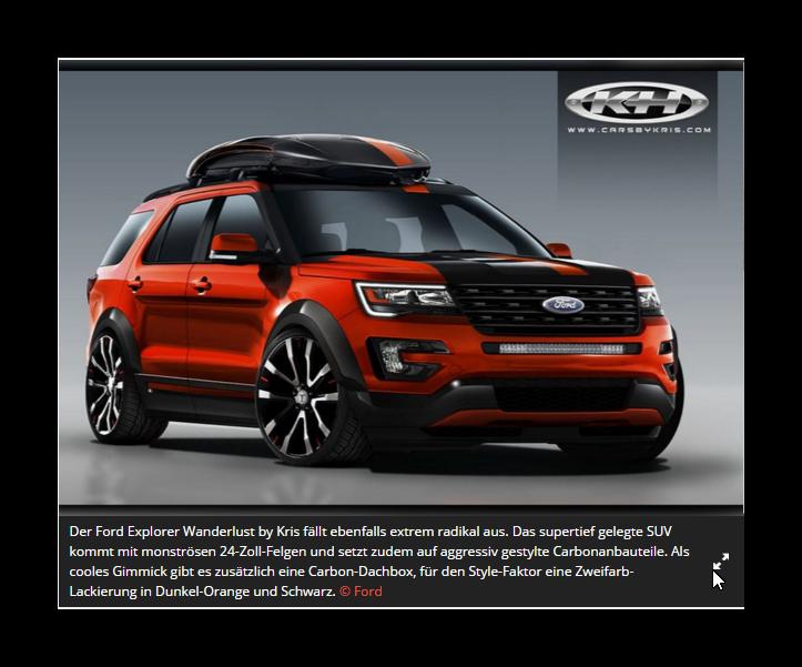 Ford Suv Konzepte 6 Mit Bildern Ford Explorer Sport Ford