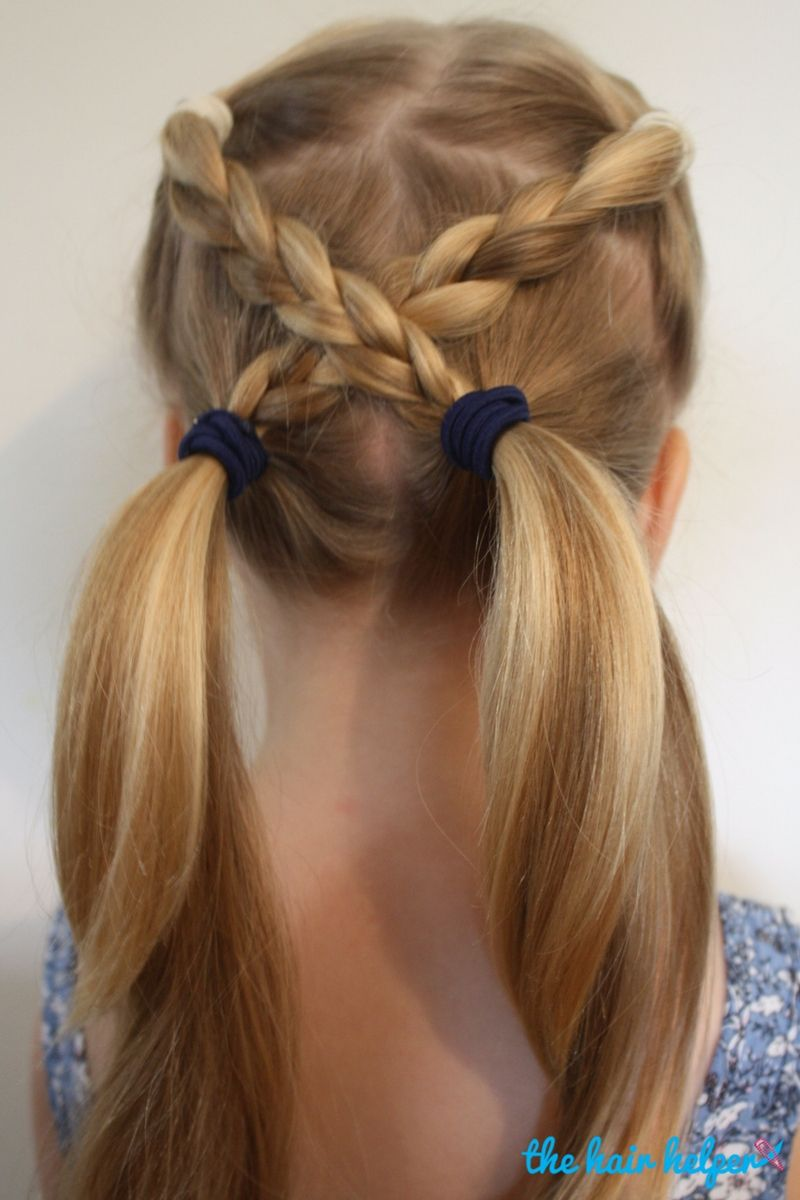 Hairstyles For Kids 17 Lazy Hair Ideas For Girls  Lazy Hair Lazy And Girls