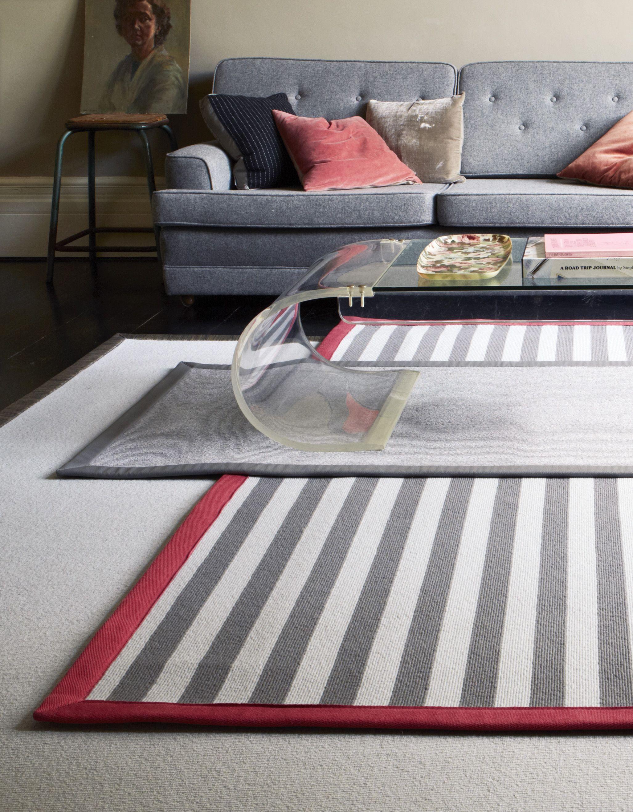 Alternative Flooring Layered Rugs