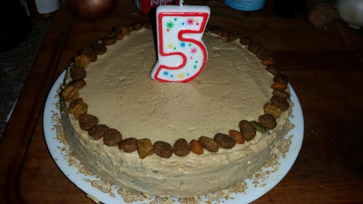 Doggie Birthday Cake Safe Healthy For Your Pup That They Will Love Allthecooks Recipe