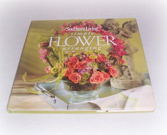 Simple Flower Arranging Book Floral Flowers How To DIY