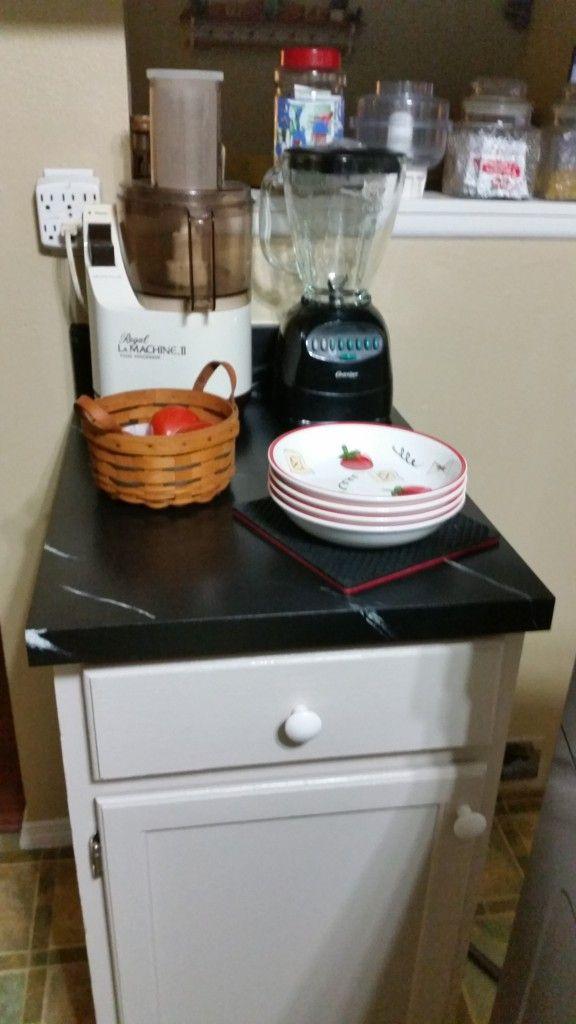 DIY Chalk Paint Countertop | #WordlessWednesday | Diy ... on Kitchen Counter Animal Crossing  id=81456