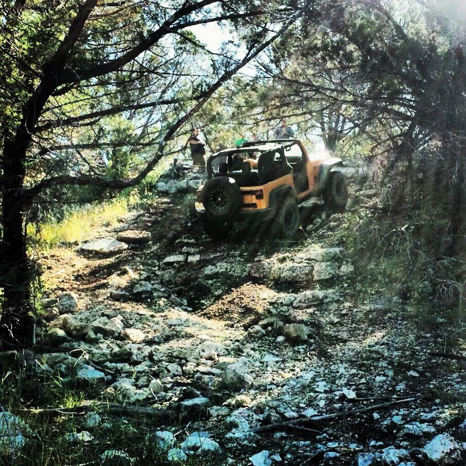 Axle buster hidden falls adventure park