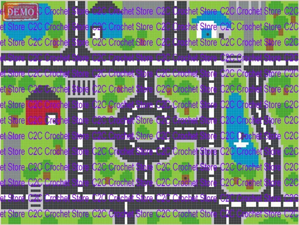 4 name crocheting c2c driving mat graphghan pattern crochet crochet chart ccuart Images