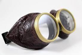 Risultati immagini per occhiali steampunk