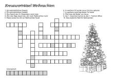 Kreuzwortratsel Zum Thema Weihnachten Weihnachtsratsel Fur Kinder Weihnachtsratsel Weihnachtsratsel Zum Ausdrucken