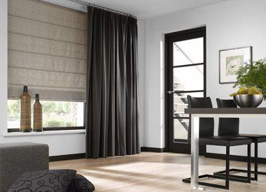 Moderne gordijnen | Woonstyling | Pinterest | Window coverings ...