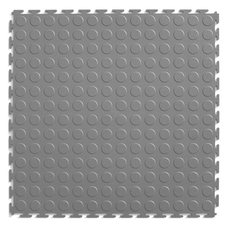 Perfection Floor Tile Studded Pvc Interlocking Tiles 8 Pk Light