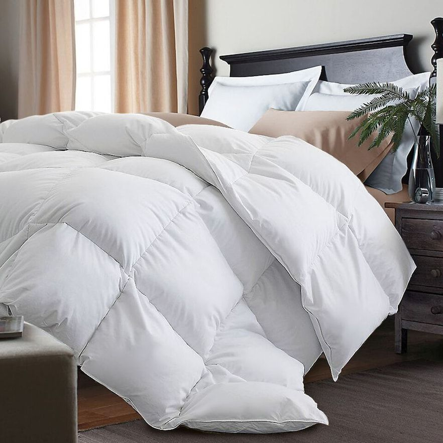 Royal Majesty White Goose Feather Down Comforter Down Comforter Bedding Down Comforter Cool Comforters
