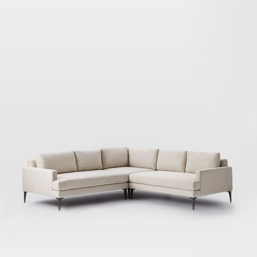 Andes L Shaped Sectional Sofa Elengant Furniture Pinterest 3