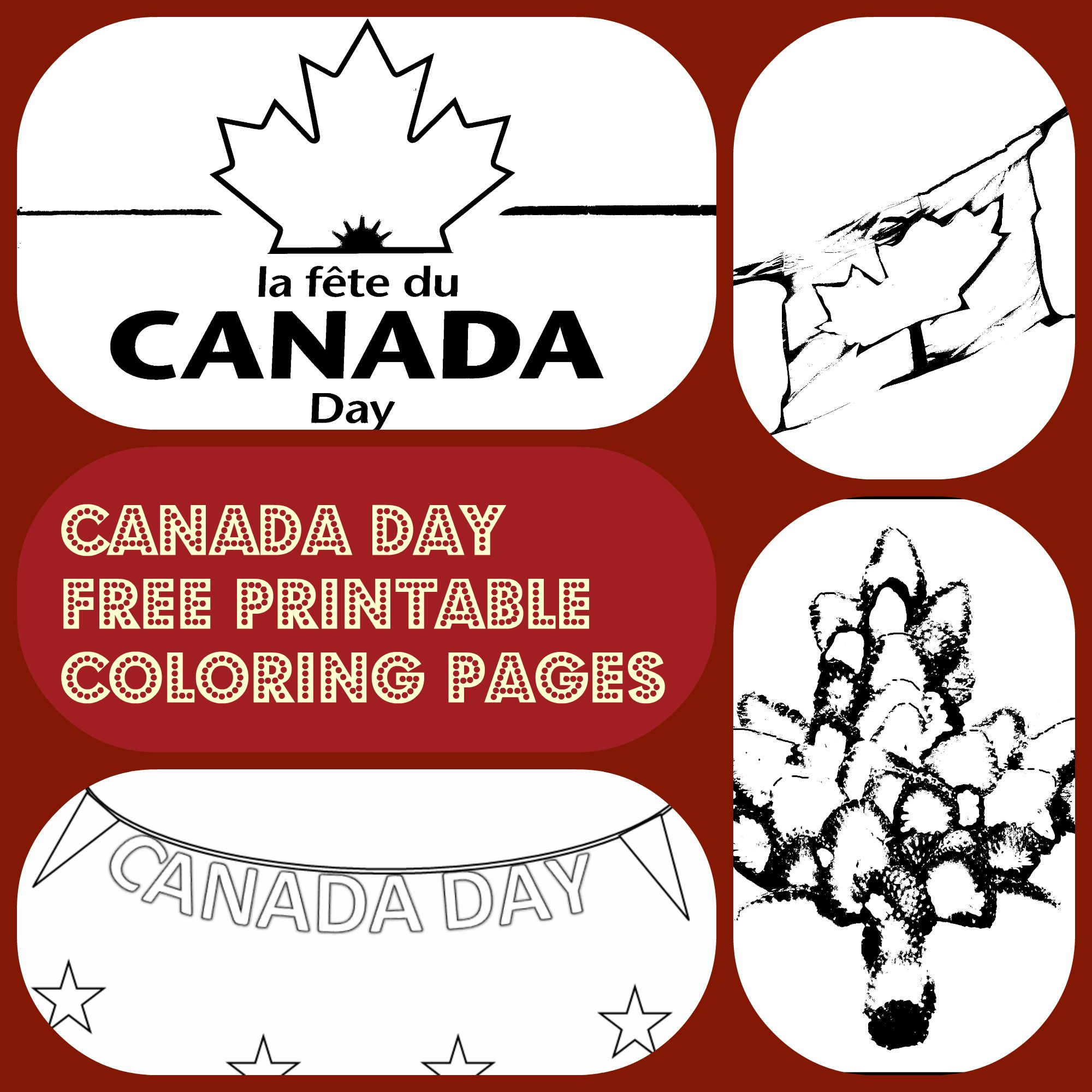 4 Canada Day free printable coloring pages | Canada: Thinking Day ...