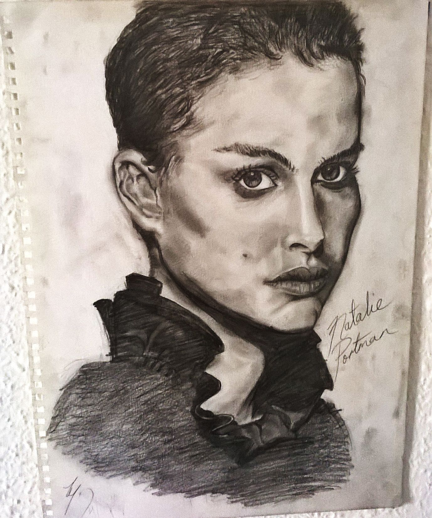 A Sketch of Natalie Portman. (With images) Freelance