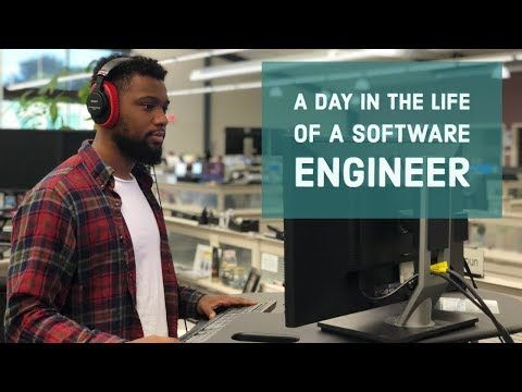 A DAY IN THE LIFE OF A SOFTWARE ENGINEER - YouTube #softwareengineer