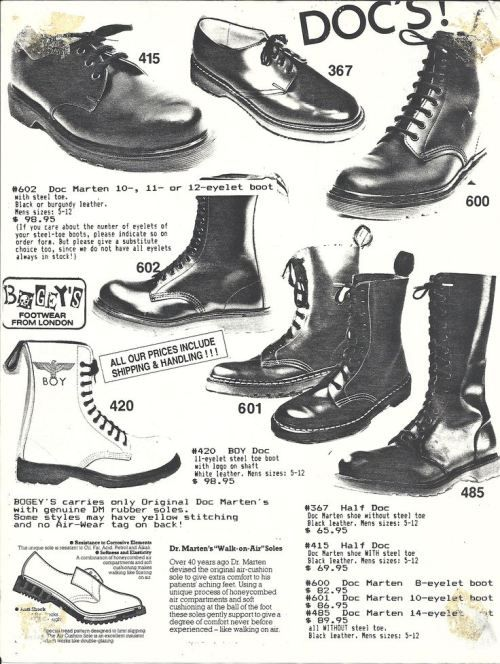 0568276d ThrowbackThusday: Vintage 80's Footwear Ads (hautemacabre.com ...