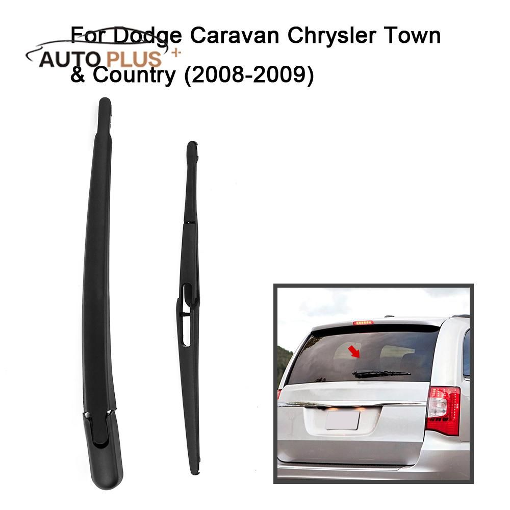 Car Rear Window Windshield Wiper Arm Blade Complete Replacement Set For Dodge Caravan Chrysler Town Chrysler Town And Country Rear Window Windscreen Wipers