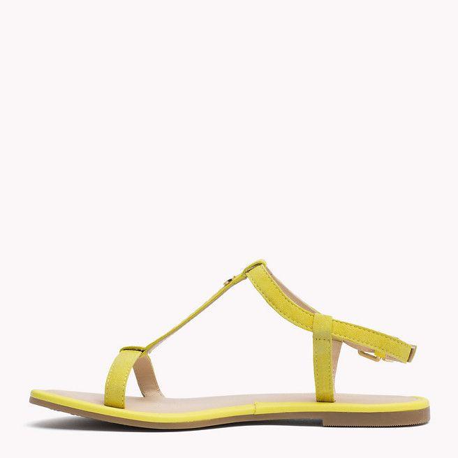 Tommy Hilfiger Suede Sandal - lemon zest (Yellow / Orange) - Tommy Hilfiger Sandals - detail image 2