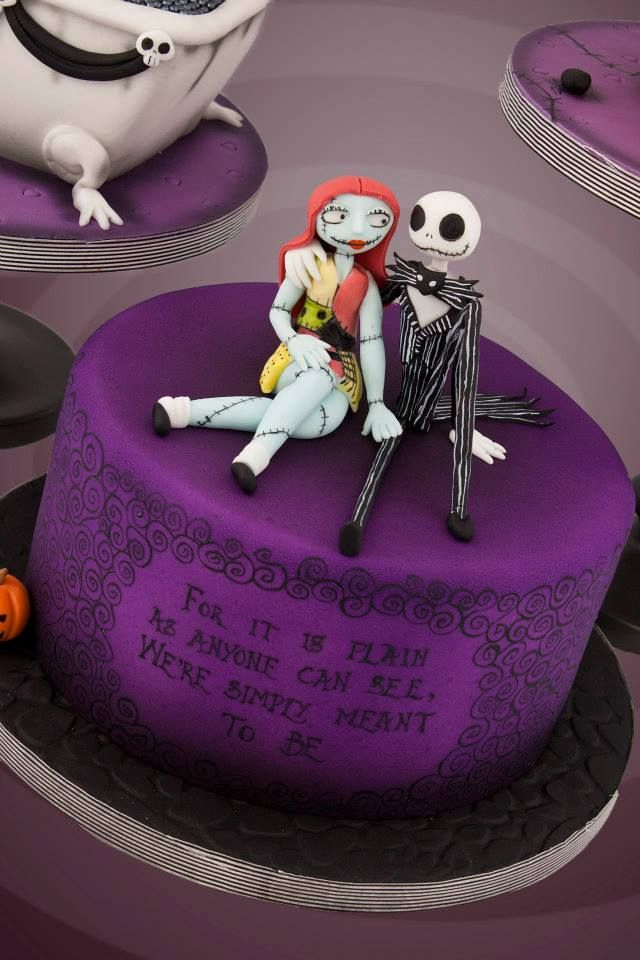 Three Awesome Nightmare Before Christmas Cakes Nightmare Before