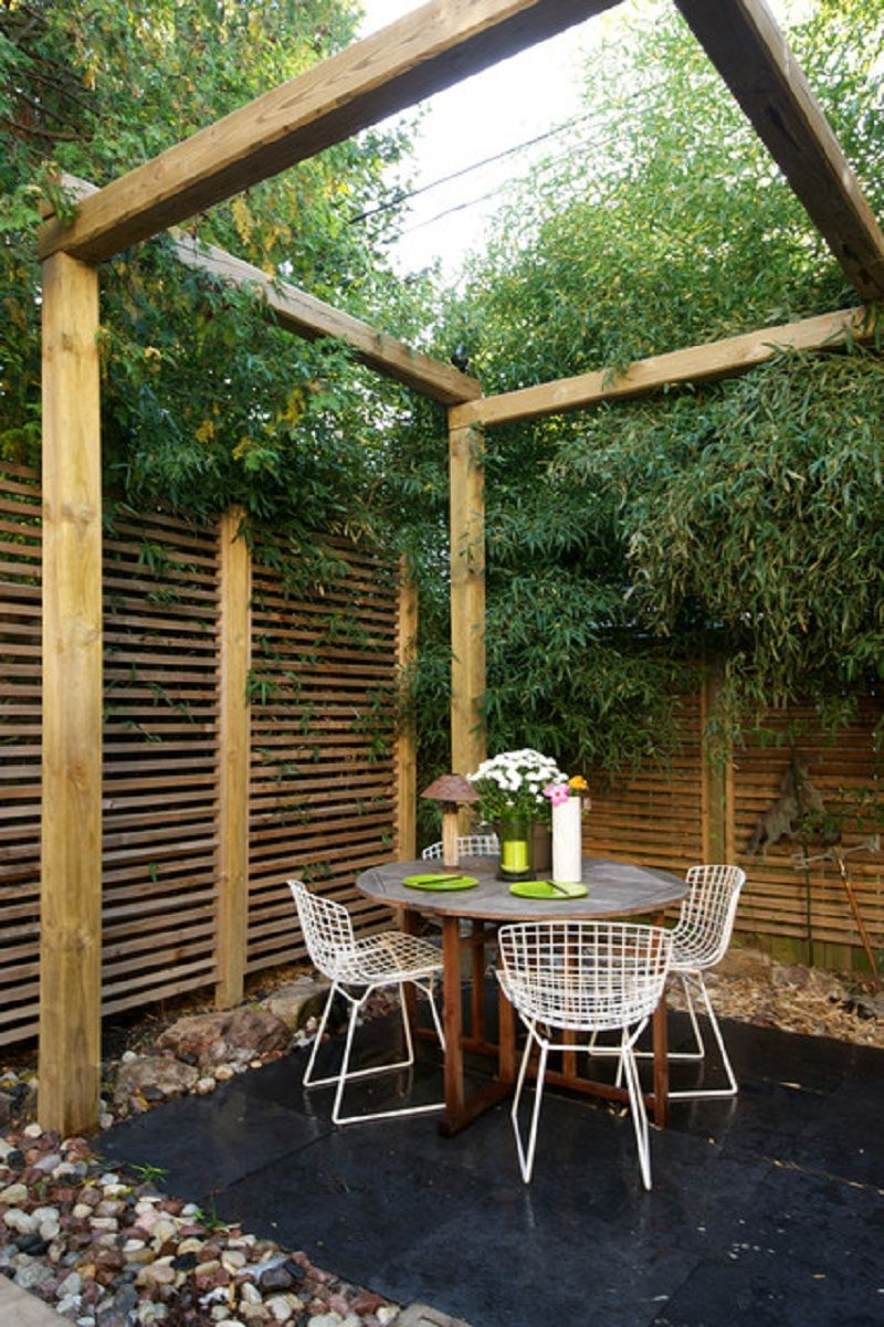 Patio Privacy Fence Great Wooden Fence For Perfect Small Private Patio Ideas