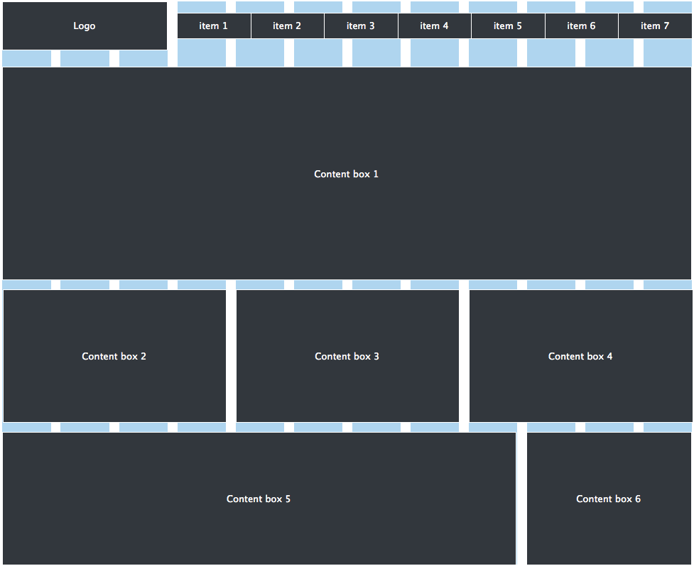 Wireframe Effectively on the New, Improved 970 Grid System ...