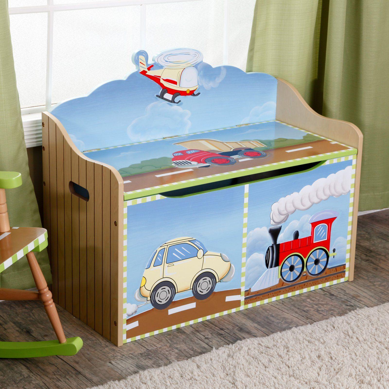 Fantasy Fields Transportation Toy Chest Toy Chest Kid Toy