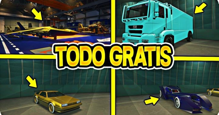 OMG!!! TRUCO COMPRA TODO GTA 5 ONLINE GRATIS! (COCHES