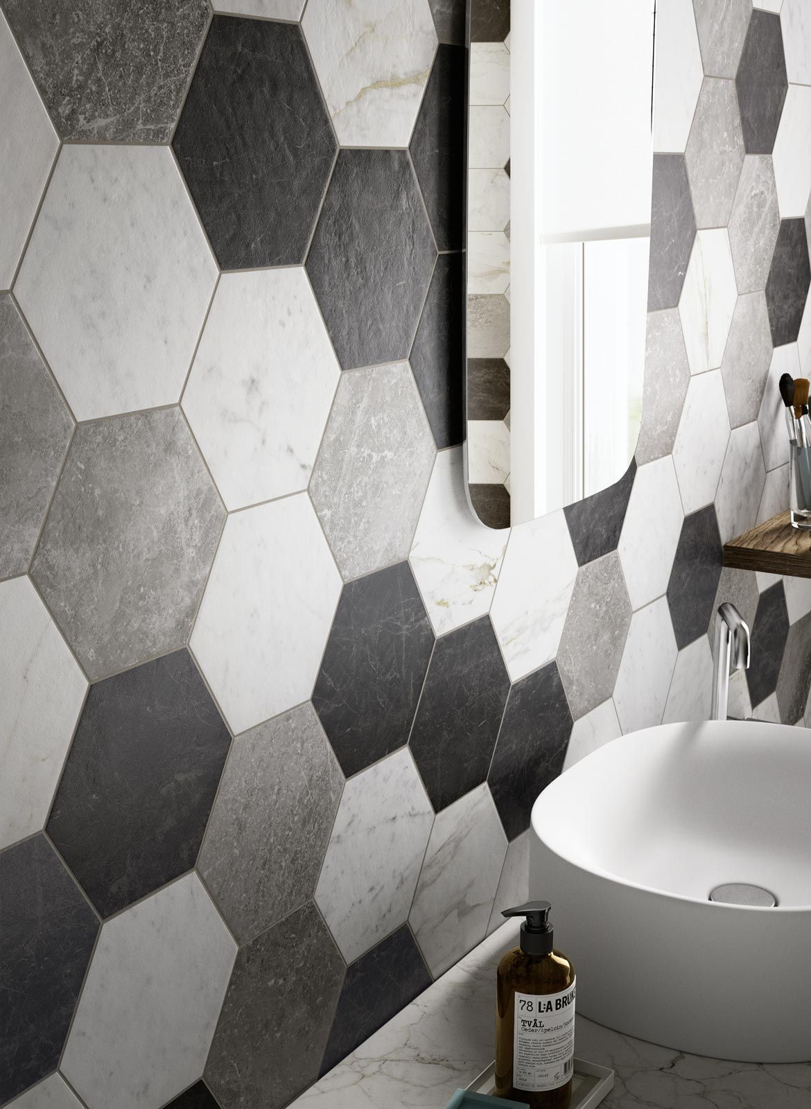 Ragno: Piastrelle Bagno_7160 | 18_HOME & DIY | Homebase bathrooms ...