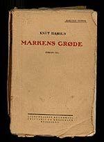 Knut Hamsun Markens Grode
