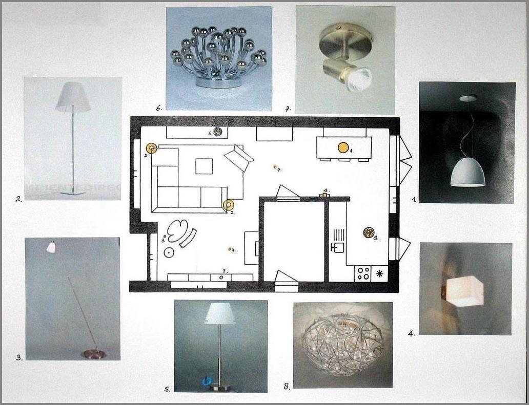 Verlichtingsplan woonkamer Hoogkarspel - Voorbeeldwerk van ...