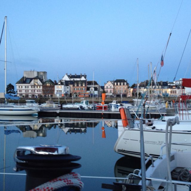 Concarneau, French harbour