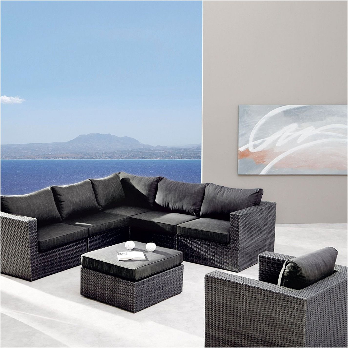 Besser Hoffner Couch Furniture Garden Furniture Rattan