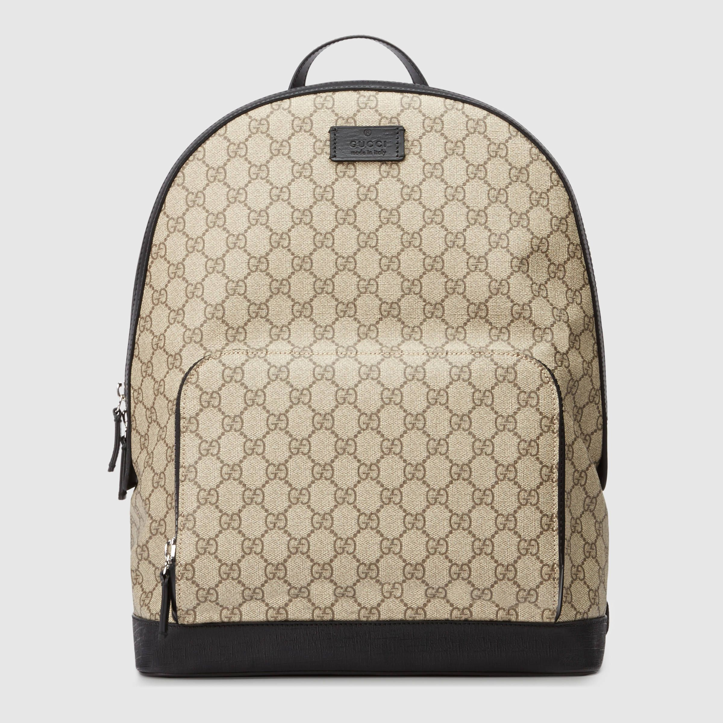 68976f06799d Gucci GG Supreme Backpack http://ebagsbackpack.tumblr.com/ Gucci Bags