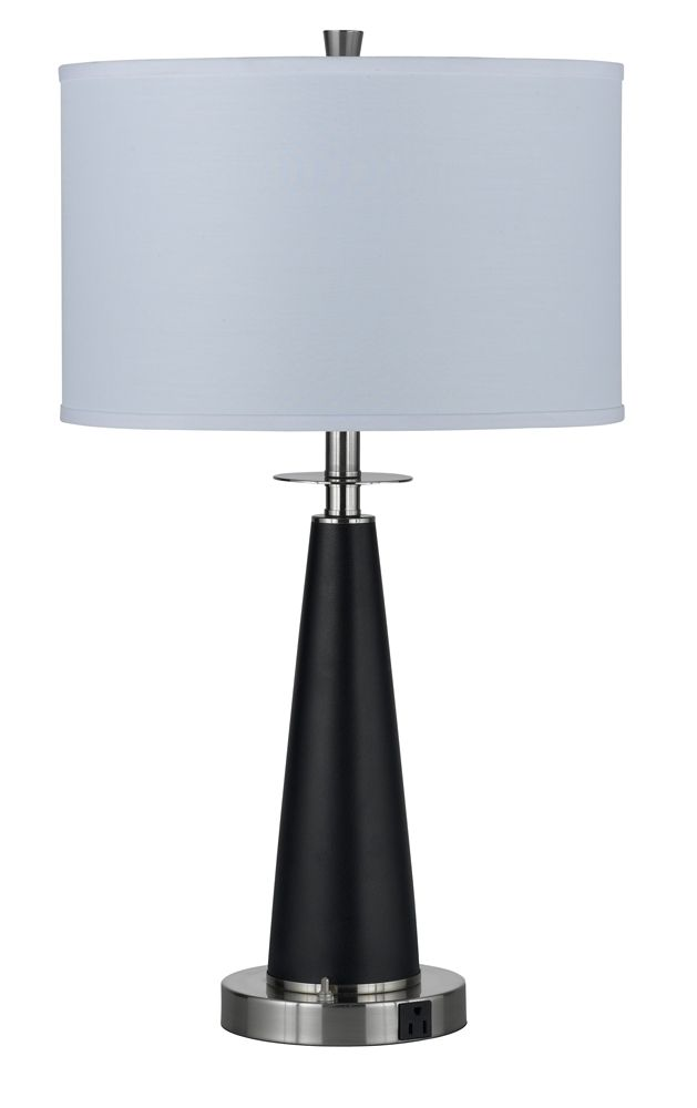 100w Metal Night Stand Lamp With On Off Push Button Base Switch And