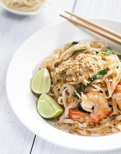 Pad Thaï traditionnel