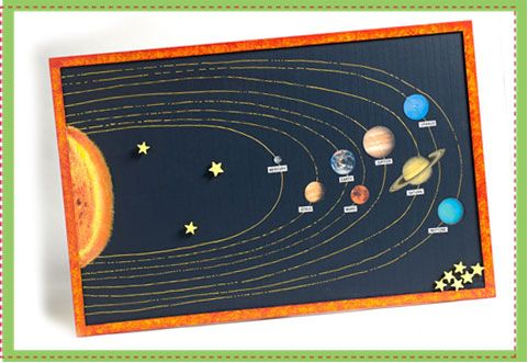 Creative Solar System Project Pics About Space