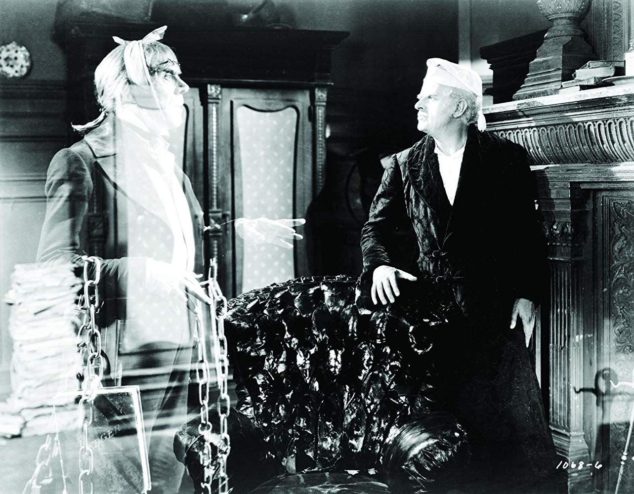 Image result for a christmas carol 1938 colorized
