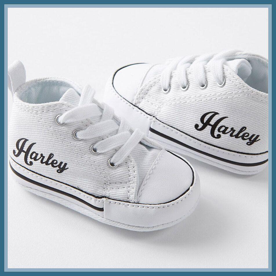 baby boy converse crib shoes