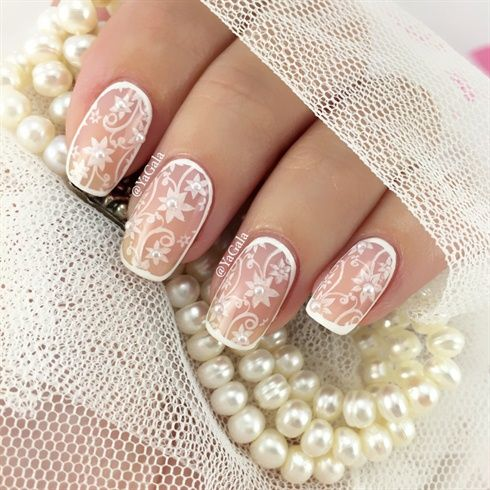 Wedding Nail Design by Yagala - Nail Art Gallery ...
