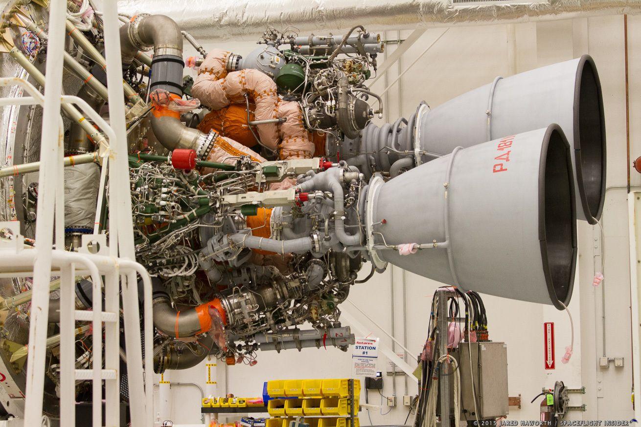 Orbital ATK Enhanced Antares rocket with RD 181