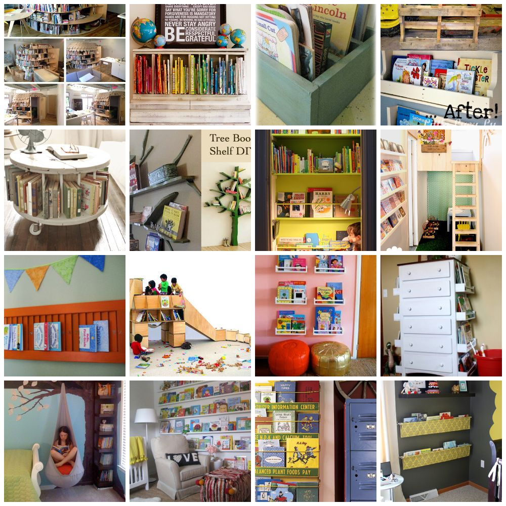 20 Cool Ways to Display Childrens Books  Tips  Tricks