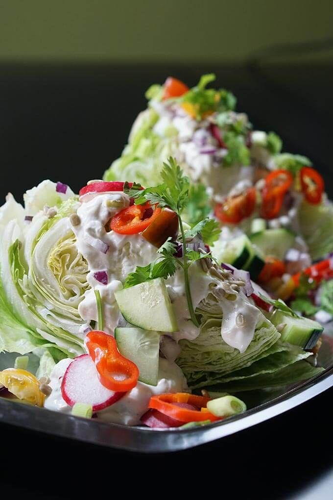 Easy to make, classic and delicious an Outback Wedge Salad is the perfect side for any meal! Creamy
