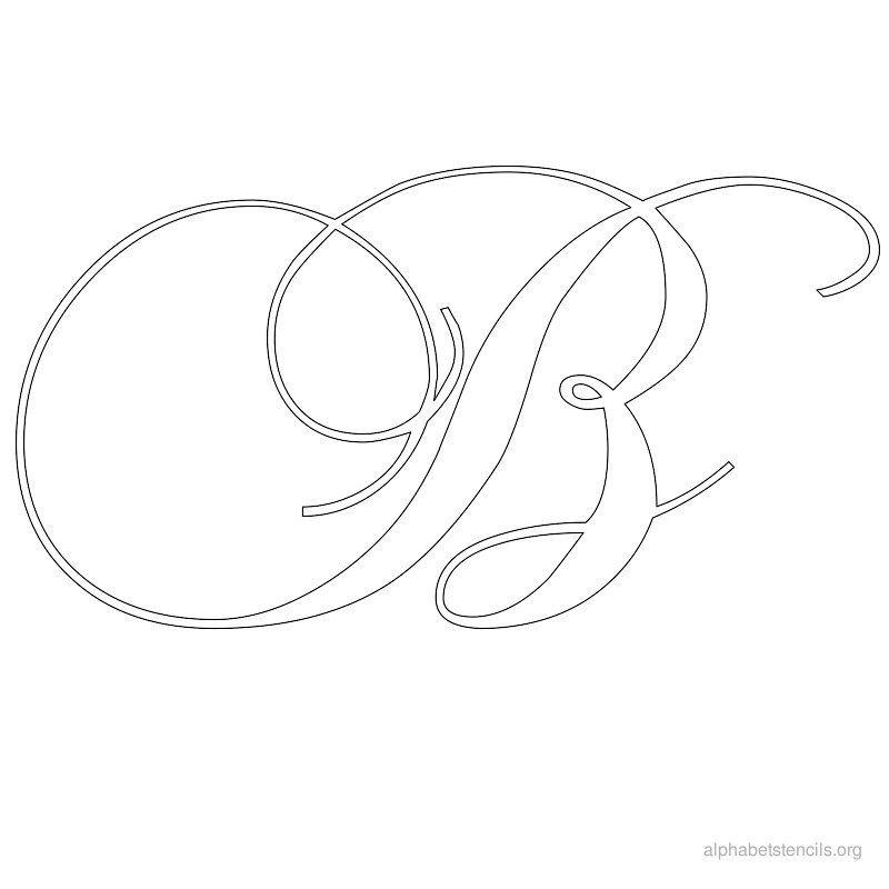 Free printable alphabet stencils a z note to self check